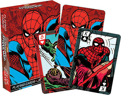 Marvel- Spider-Man Comics Playing Cards Deck Misc