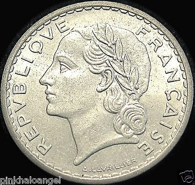France - French 1949 5 Francs Coin - Great Coin - Fourth Republic