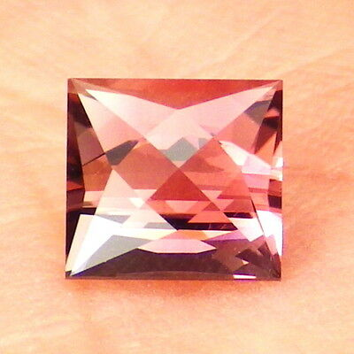 TOURMALINE RUBELLITE-RUSSIA 1.33Ct FLAWLESS-HOT PINK+ROSE PINK COLOR-FOR JEWELRY