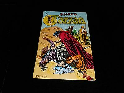 Super Tarzan 33 : Le grain de sable Editions Sagédition 1981