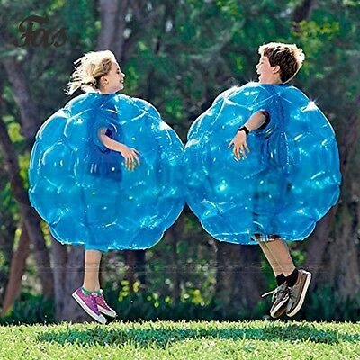 2Pcs Body Inflatable Bubble Bumper Zorb Ball Football Family Heat Sealed Outdoor