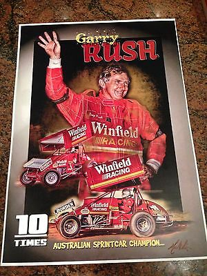 Garry Rush 10 Times Champion Winfield  Print