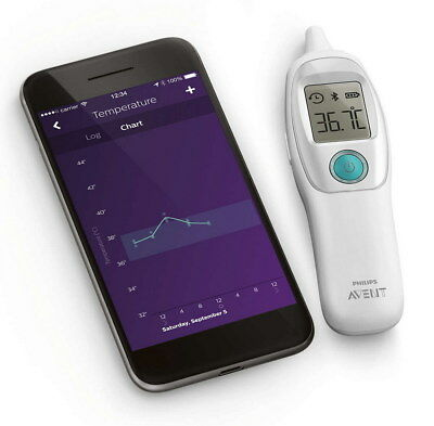 Philips Avent Smart Ohr Thermometer digital - NEU