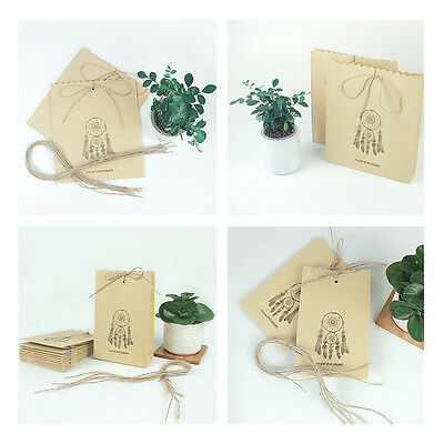Indian Style Dreamcatcher Kraft Paper Gift Bag Packaging Diy