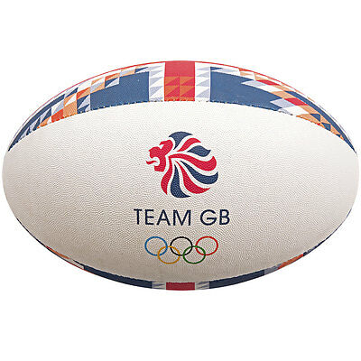 Gilbert Team GB Supporters Rugby Ball Size 5
