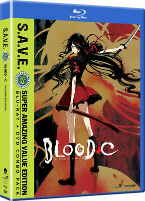 Blood-C - The Complete Series - S.A.V.E. [New Blu-ray] With DVD