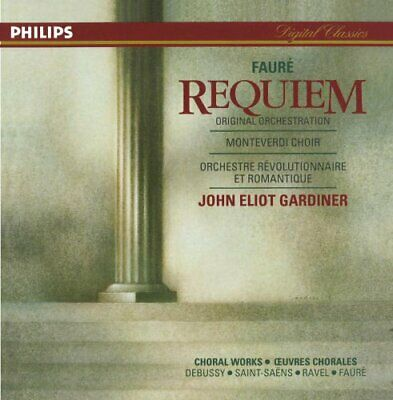 Faur�: Requiem / French Choral Works -  CD 5YVG The Fast Free Shipping