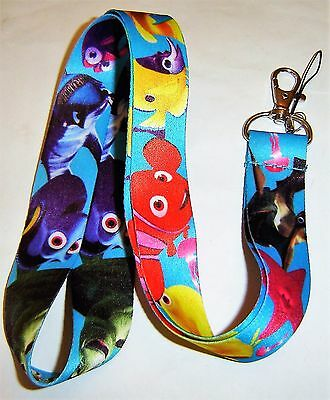 Finding Nemo Dory Mobile Lanyard Id Tag Neck Strap Holder Just Keep Swimming