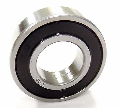 (Qty 10) 6004 2RS 6004 RS BEARINGS SNOWMOBILE BEARINGS W/LOW TEMP Grease (Blk)