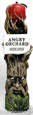 "Angry Orchard Crisp Apple Cider,11"" Beer Tap Handle from Bugaboo Creek Bangor,ME"