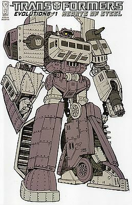 Transformers Evolutions Hearts Of Steel #1 (NM)`06 Dixon/ Guidi (VARIANT)