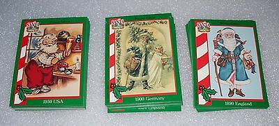 SANTA - Around the World - 72 card set   Santa Claus - Educational Trading cards