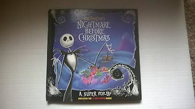 Nightmare Before Christmas Super Pop Up Book. 1st Edition. 1993. Used w/wear.