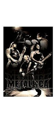 METALLICA ~ LIVE COLLAGE 22x34 POSTER James Hetfield Lars Kirk Robert Music