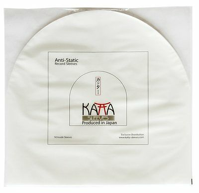 "50 LP / 12"" Record ORIGINAL Plastic JAPAN KATTA INNER SLEEVES"