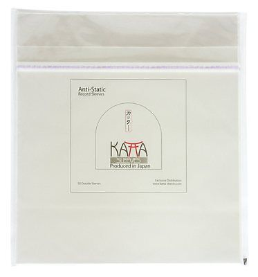 "50 LP / 12"" Record ORIGINAL Plastic JAPAN KATTA OUTSIDE SLEEVES"