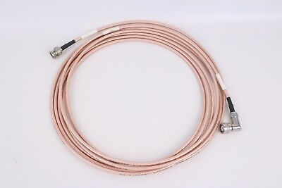 Harris Radio Frequency Cable Assembly 11080-3933-A015 RG14 TNC 15Ft
