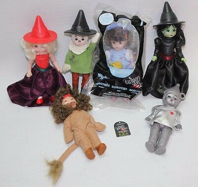 2007 McDonald's Madame Alexander Wizard of Oz Dolls Set of 6 Toys Collectibles