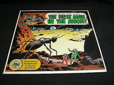 THE FIRST MAN IN THE MOON: Wonderland records: H.G. WELLS; 1973  Spoken Word