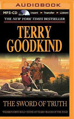The Sword of Truth, Books 1-3 by Terry Goodkind MP3 CD Book (English)