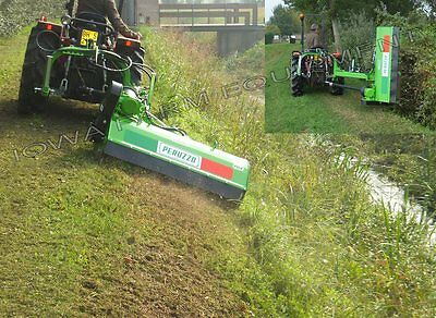 "Flail Ditch Bank Side Trim, Verge Mower: Peruzzo Fox Cross 1600, 60""Cut, 30-45HP"
