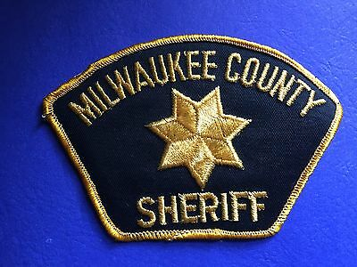 Milwaukee Counnty  Sheriff Shoulder  Patch