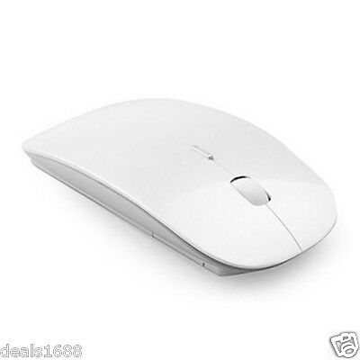 Ultra-Thin 2.4G Wireless Mouse Scroll USB Optical Mice For Windows Mac Laptop PC