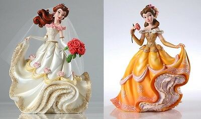 Couture de Force Disney Princess Belle Figurine Set of 2 Beauty and the Beast
