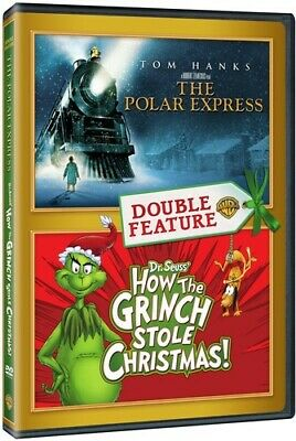 The Polar Express / How the Grinch Stole Christmas [New DVD] 2 Pack, Eco Amara