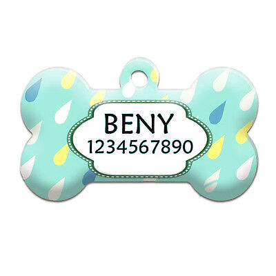 Identity Tags for Pets Personalised Engraving Dog Cat Puppy Pet Collar Tag DT025
