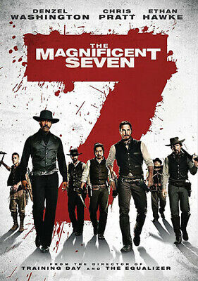 The Magnificent Seven [New DVD] Ac-3/Dolby Digital, Dolby, Dubbed, Subtitled,