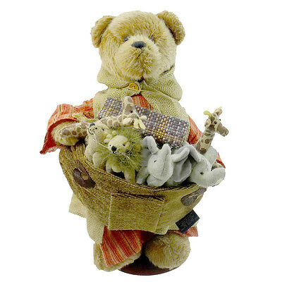 Boyds Bears Plush MR NOAH AND FRIENDS Fabric Limited Edition Animals 904806