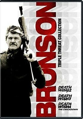 Bronson Triple Threat Collection: Death Wish 2 / Death Wish 3 / Death Wish 4: Th