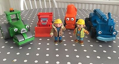 Bob The Builder Toy Bundle friction toys and figures Roley Muck Dizzy Lofty