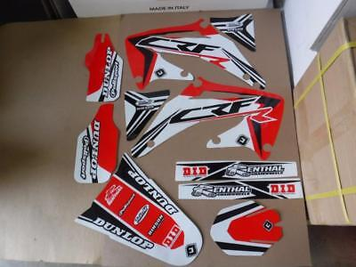 Flu Designs Pts3 Team Honda Graphics Crf450 Crf450R 2002 2003 2004