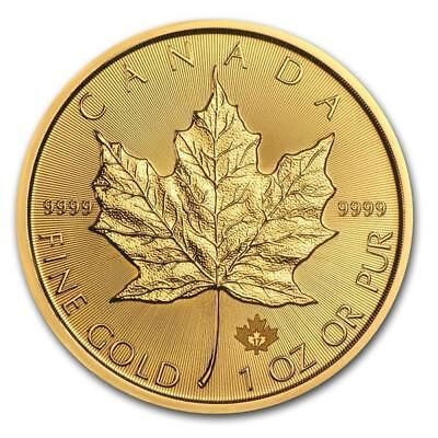1 Unze Gold Maple Leaf Kanada 2017 BU
