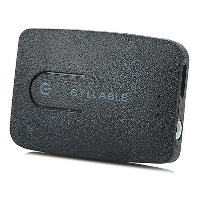 Syllable 3.5mm Bluetooth 4.0 Audio Transmitter Adapter Stereo Music For TV PC