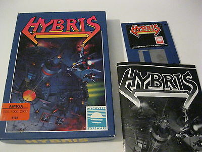 HYBRIS AMIGA GAME complete Discovery Software