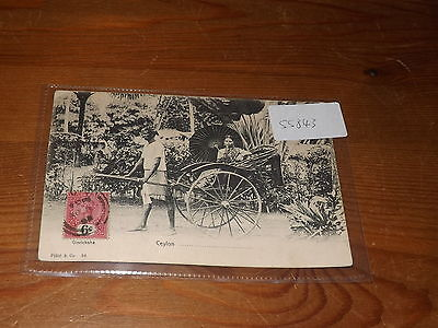 Old CEYLON  postcard our ref #55843 EARLY U/B 1903