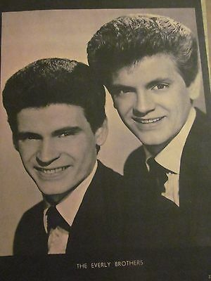 The Everly Brothers, Full Page Vintage Pinup