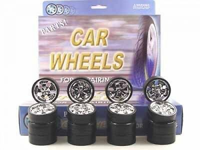 Collectable Diecast Replacement Spinner Rims For 1/18 Scale Cars & Trucks