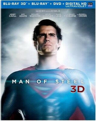 Man of Steel [New Blu-ray 3D] With Blu-Ray, With DVD, Boxed Set, UV/HD Digital
