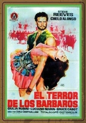 Terror of the Barbarians [New DVD]