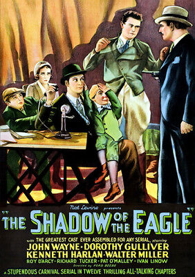 The Shadow of the Eagle [New DVD]