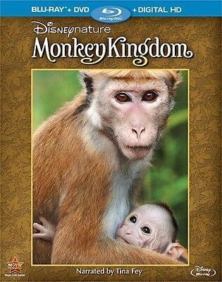 Disneynature: Monkey Kingdom [New Blu-ray] With DVD, 2 Pack, Ac-3/Dolby Digita