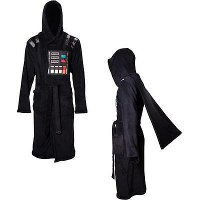 Star Wars - Darth Vader Caped Fleece Adult Bathrobe - New & Official With Tag