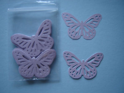 40 Monarch Butterfly LILAC Pearlised Pearl Paper Wedding Confetti Card