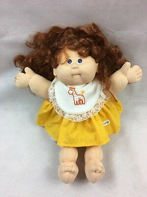 CABBAGE PATCH KIDS DOLL 1980s VINTAGE COLECO OK XAVIER ROBERTS SIGNATURE DRESS