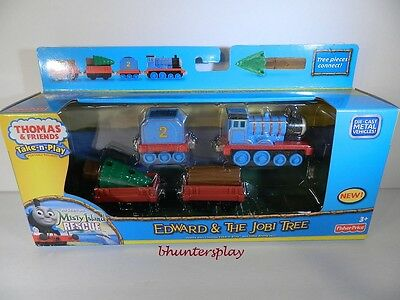 NEW Fisher-Price Thomas the Train Take N Play Edward and the Jobi Tree R9474