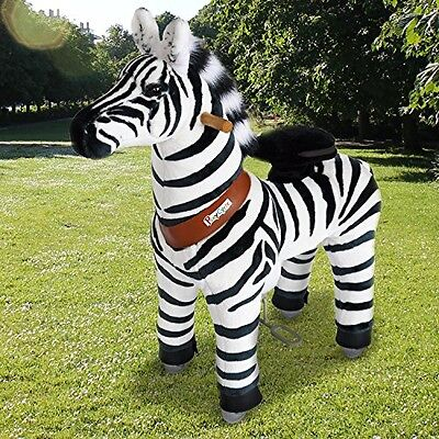 Pony Cycle PonyCycle Official PonyCycle Ride On Zebra No Battery No Electricity
